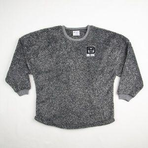 Walt Disney World Fuzzy Black Gray Spirit Jersey